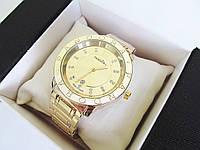 Часы  наручные женские часы золото+золотой циферблат