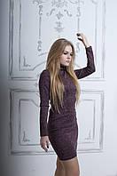 Женское платье с длинным рукавом (ММ-003)
