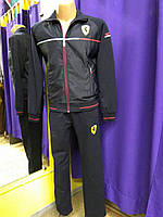 Мужской спортивный костюм Ferrari т. синий