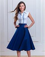 Жіноча блузка-вишиванка короткий рукав