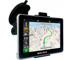 GPS-навигатор SHUTTLE PNA-5019 + FM + AV