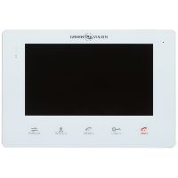 """Видеодомофон цветной 7"""" Green Vision GV-053-J-VD7SD белый"""