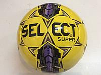 Мяч футзал №4 SELECT SUPER ламинированный (без отскока) желтый, фото 1