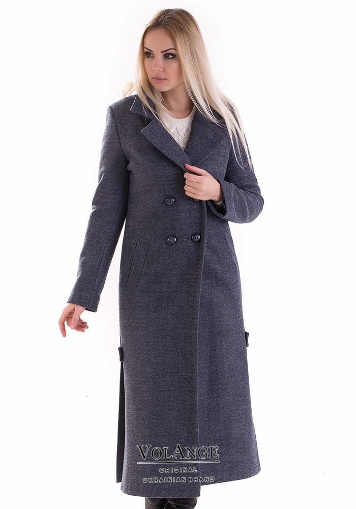 Женское пальто прямого кроя из кашемира Дания  продажа 205e6876c6aba