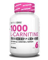 Карнитин L-CARNITINE 1000 60 таблеток