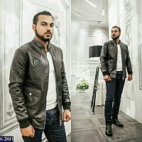 Мужская куртка эко кожа новинка 2018