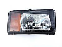 Блок фара головного света ВАЗ 2104, 2105, 2107 правая, оранжевый указатель, Л-Б/Н4