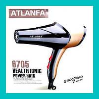 Фен для укладки волос c насадкой AT-6705!Опт