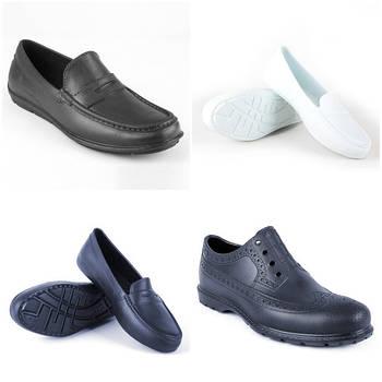 Мокасины и туфли из пены ЭВА