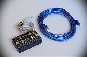 """Комплект Кнопки """"Шайтанама протокол"""" KKstat + USB удлинитель 5м"""