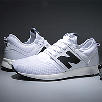Кроссовки New Balance 247 White Белые мужские реплика