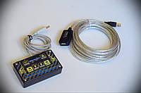 """Комплект Кнопки """"Шайтанама протокол"""" KKstat + активный USB удлинитель 5м, фото 1"""