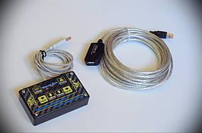 """Комплект Кнопки """"Шайтанама протокол"""" KKstat + активный USB удлинитель 5м"""