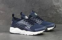 Мужские кроссовки Nike Huarache - тёмно-синие, фото 1