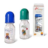 Бутылочка для кормления 125 мл(стекло)