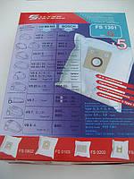 Комплект сменных мешков для пылесосов Siemens, Bosch (5 шт.) FS 1301, фото 1