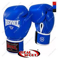 Боксерские перчатки Reyvel 14oz BK020099 (PU, цвет в ассорт.), фото 1