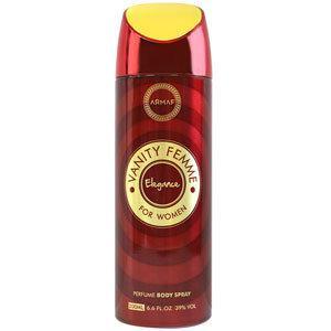 Парфюмированный  дезодорант женский Vanity Femme Elegansе 200ml. Armaf (Sterling Parfum)