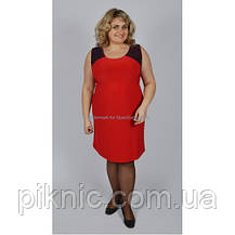 Платье Дейнерис батал 56-58, 58-60, 60-62. Красивое женское платье больших размеров, фото 3