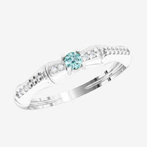 Кольцо  женское серебряное Бамбук KE-1339