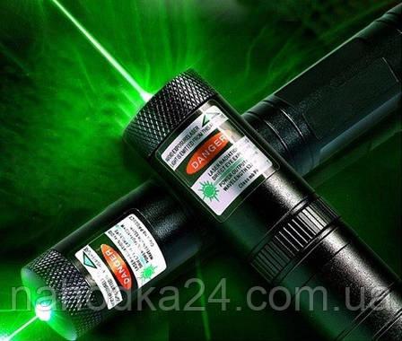 Лазерная указка Green Laser 303, мощный зеленый лазер, фото 2
