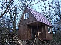 Дачный домик с жилой масандрой