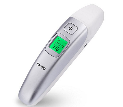 ИК цифровой медицинский термометр, пирометр Sanpu, фото 2