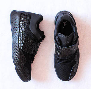 Мужские кроссовки Nike AIR JORDAN J23 BLACK  топ реплика, фото 2