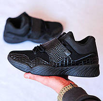 Мужские кроссовки Nike AIR JORDAN J23 BLACK  топ реплика, фото 3
