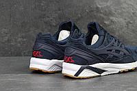 Мужские кроссовки Asics Gel Kayano Trainer - тёмно-синие с белым, фото 1