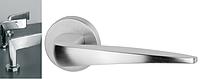 Дверная ручка VDS Virgo хром-сатин