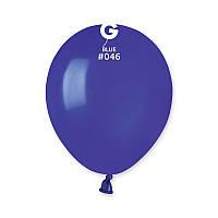 """Воздушные шары пастель темно-синий 5"""" (13 см) Gemar"""