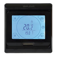 Сенсорный программируемый терморегулятор Heat Plus M9.716 Black