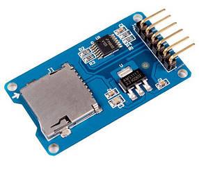 Модуль зчитування карт microSD