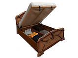 Ліжко з ДСП/МДФ в спальню вишня Прімула 1,6х2,0 підйомне з каркасом Миро-Марк, фото 3