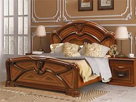 Ліжко з ДСП/МДФ в спальню Прімула 1,6х2,0 підйомне з каркасом Миро-Марк