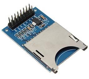 Модуль зчитування карт SD