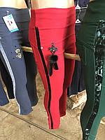 Котоновые брюки для девочек в расцветках