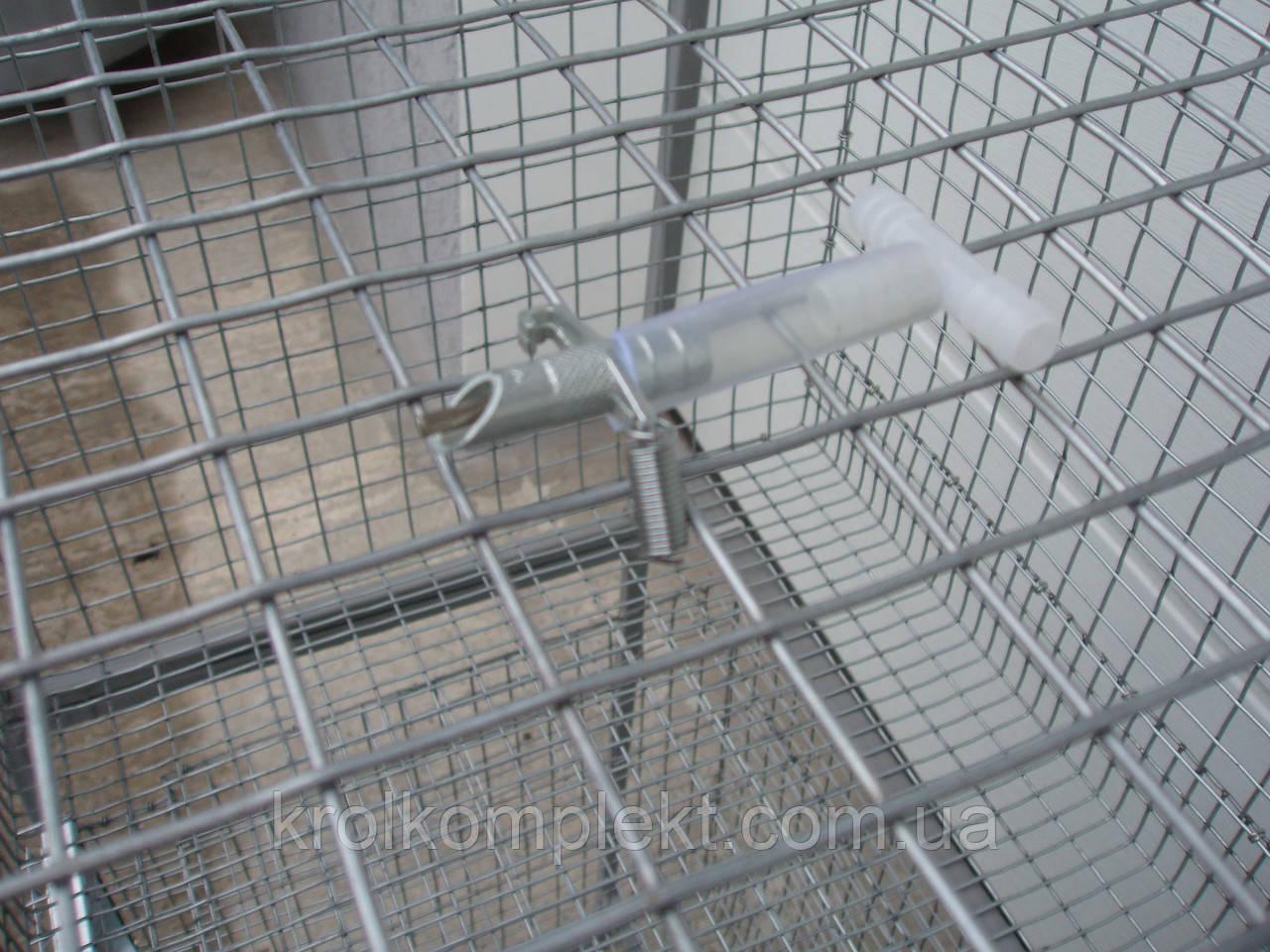 Поїлки для кролів металева - фото 2
