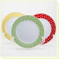 Набор фарфоровых тарелок MR-10032-01G