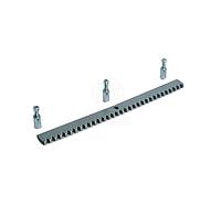 Зубчатая рейка стальная CAME CGZS оцинкованная, болтовая 30х8