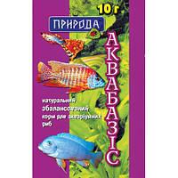 Природа Аквабазис натуральная сухая смесь 10г, 10шт
