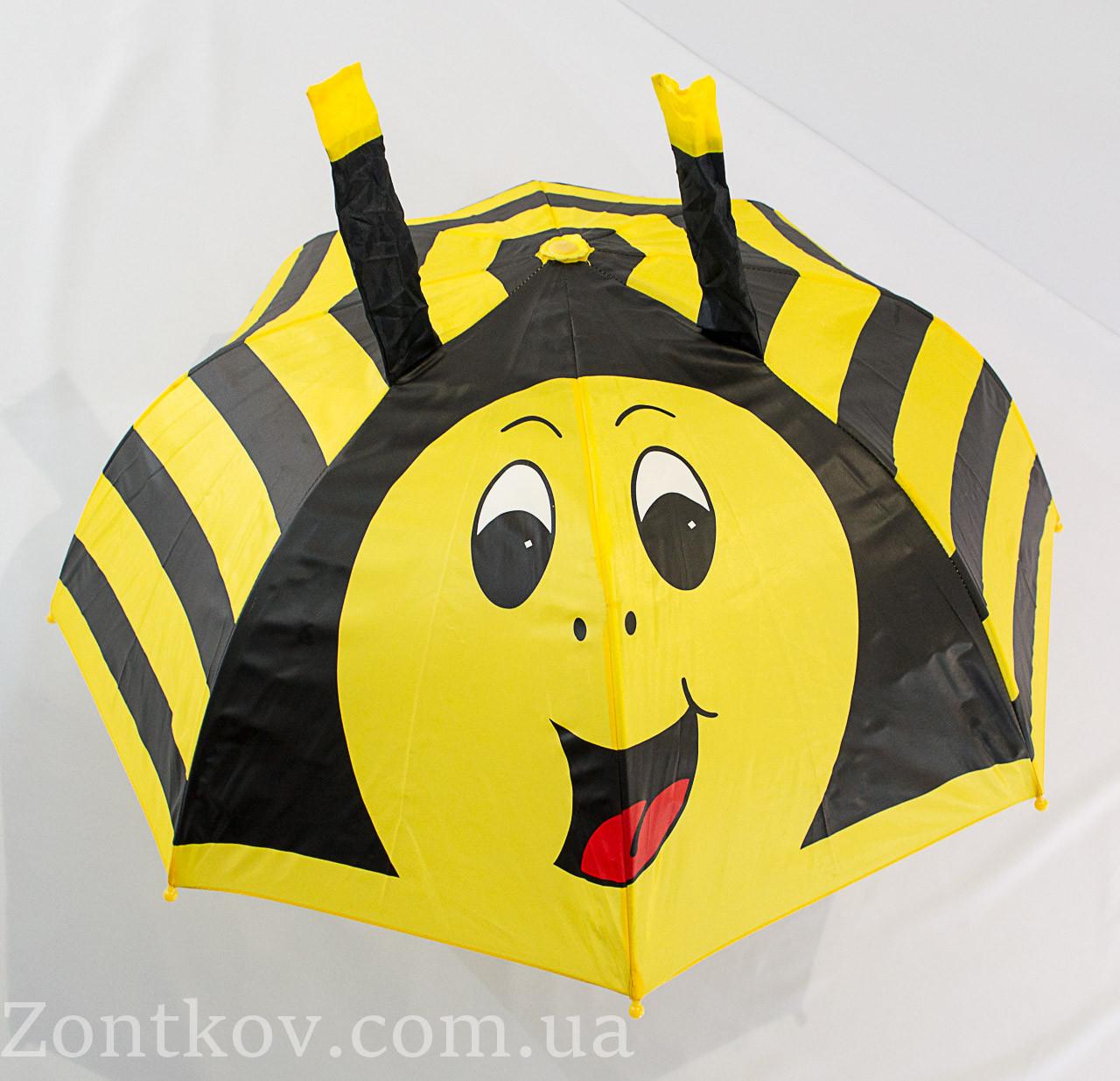 """Детский зонтик с ушками на 2-5 лет от фирмы """"Flagman""""."""