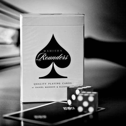 Карты игральные | Madison Rounders : Black