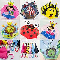 """Детский зонтик с ушками оптом на 2-5 лет от фирмы """"Flagman""""., фото 1"""