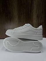 Модные женские кеды из иск. кожи SOPRA   B1105, белые, фото 3