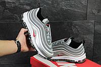 Мужские кроссовки Nike 97 - серые (рефлективные), фото 1