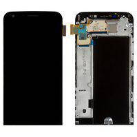 Дисплей (экран) для LG H845 G5 SE + с сенсором (тачскрином) и рамкой черный