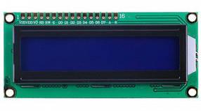 Дисплей LCD 1602 V2.0 з підсвічуванням