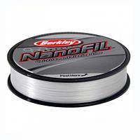 Шнур Berkley NANOFIL Clear 125m 0.12mm (прозрачный)